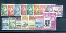 British Virgin Islands 1964 DEFIN set mnh