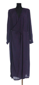 *** Rodebjer Lu Injection *** Women's long sleeved Wrap Dress Size XL