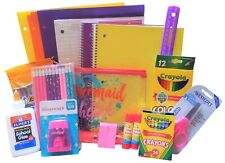 Back to School/Homeschool Supplies Essentials Bundle K-6th grade girl 39 Pieces
