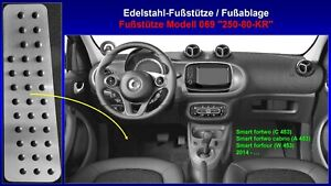 Fußstütze Fußablage Pedal Smart fortwo cabrio forfour 453