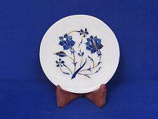 Decorative Plate Pietra Dura Mughal Inlay Handmade Home Decor