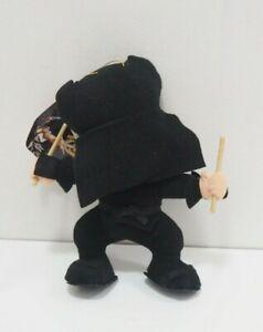 Samurai Spirits Shodown Announcer SNK 1993 Plush TAG Stuffed Toy Doll Japan