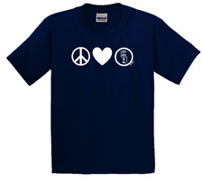 4x4 Life Peace.Love.4-Wheel Drive. Tee for Jeep,Land Rover,Off-Road Enthusiast!