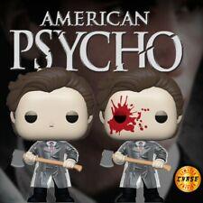Funko Pop! 'American Psycho' Patrick Bateman *Common + Bloody Chase* Preorder