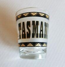 Tasmania Shot Glass Travel Souvenir Map