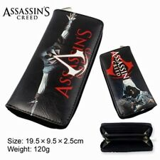 NEW Movie Video Game Assasin's Creed Large Enclosed Wallet Purse NIB