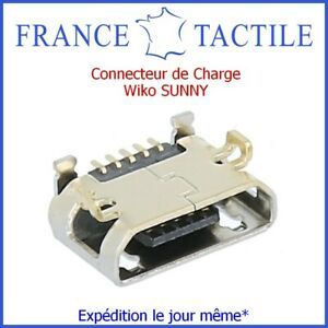 Connecteur de Charge Micro USB WIKO SUNNY - 100% Neuf et Original