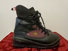 Women's Merrell Bc Traverse Black Leather Cross Country Ski Boots, Size 8.5 M