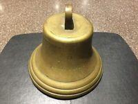 Rare bronze ships bell named