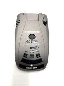 Beltronics RX65-Blue Professional Series Radar Detector