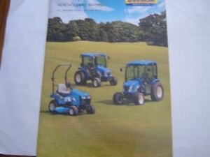 New Holland Boomer Compact Tractor TZ / 2000 / 3000 Series Brochure
