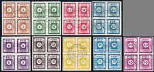 SBZ, MiNr. 42-50 G, Loschwitz, Viererblock, gestempelt, gepr. Jasch, Mi. 480,-