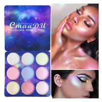 9 Colors Eye Shadow Palette Matte Glitter Makeup Shimmer' Eyeshadow Cosmetic hot