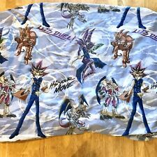 Vintage Yu-Gi-Oh 1996 Twin Fitted Sheet *Read Wear Hole Crafting