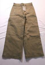 Everlane Women's Wide Leg Crop Patch Pocket Pant AB3 Olive Size 6x27 NWT