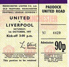 Liverpool Football Tickets & Stubs