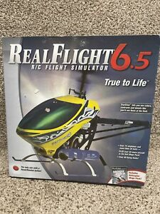 Real Flight 6.5 R/C Simulator Interlink Elite Controller Futaba Heli Mega Pack