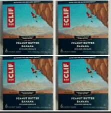 WHOLESALE PACK OF 4 Cliff Peanut Butter Banana With Dark Chocolate Energy Bar