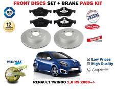 pour Renault Twingo 1.6 RS 2008- > ensemble DISQUES DE FREIN AVANT NEUF +