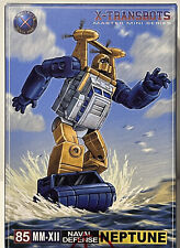 X-Transbots 85 MM-XII Neptune Transformers Masterpiece Seaspray MIB
