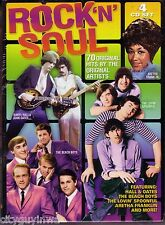 ROCK 'N' SOUL Various Artists BRAND NEW 4 CD Box Set Oldies Hits 60s 70s & 80s