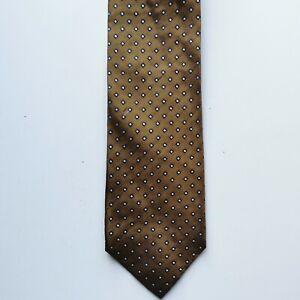 Georgio Armani Men's Tie Cravatte 100% Silk Made In Italy