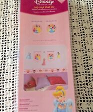 Wall Decals Disney Princess Self Stick Snow Belle Cinderella Beauty New