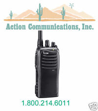 NEW ICOM IC-F4011-42-RC, UHF 450-512 MHZ, 4 WATT, 16 CHANNEL TWO WAY RADIO