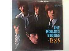 ROLLING STONES 12 x 5 LP PS 402 Stereo Vinyl 1964 2nd Original Recording USA