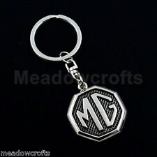 MG Key Ring NEW with Box - UK Seller - Silver - Car Keyring