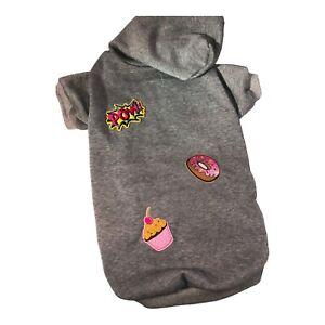 Sweatshirt with festive patches size XXL