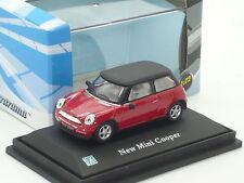 New 1:72 Mini Cooper R53 Red BMW n S D JCW 1.6i Austin Morris 1:76 OO Gauge
