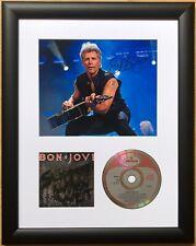 Jon Bon Jovi / Bon Jovi / Signed Photo / Autograph / Framed / COA