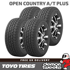 4 x Toyo Open Country A/T Plus Road / Off Road Tyres 235 65 17 235/65/17 108V XL