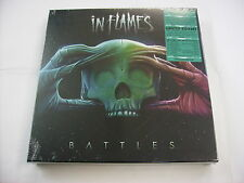 IN FLAMES - BATTLES - 2LP YELLOW VINYL + CD + GADGETS BOXSET - NEW SEALED 2016