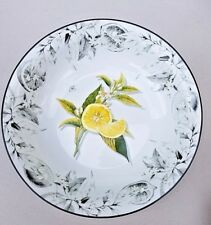 "Williams Sonoma Platter Plate Fish Ceramic Glazed Made In Italy 22"" Large Pottery & Glass"