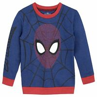 Spiderman Sweatshirt | Spider-Man Sweater | Boys Marvel Spider Man Jumper | NEW