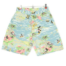 Jerry Leigh Mickey Minnie Mouse Womens Shorts Jean Size 9 10 Vintage Tropical