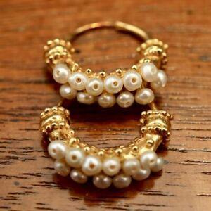Pearl Gypsy Earrings: Museum of Jewelry