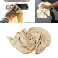 Natural Chamois Leather Car Cleaning Cloth Washing Drying P9K2 Towel S2K4