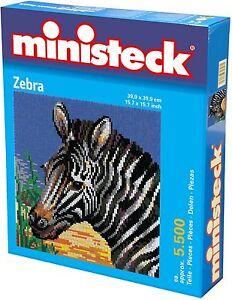 Ministeck Pixel Puzzle (31875): Zebra 5500 pieces