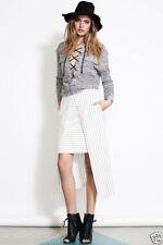 Above Knee Machine Washable Regular Asymmetrical Skirts for Women