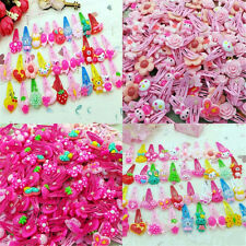 20pcs Lots Lovely Assorted Baby Kids Girls Hair Pin Cartoon Hair Clips Jewelry
