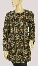 139607 New Etoile Isabel Marant Floral Printed Quilted Cotton Jacket Top Small S