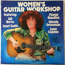 Women's Guitar Workshop Folk LP Janet Smith~Margo Random~Lynn Clayton~Gill Burns