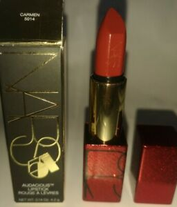 NARS Carmen Audacious Lipstick Limited Edition Packaging 4.2g BNIB