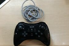 Official Nintendo Wii U Pro Controller + Charging Cable. Excellent Condition
