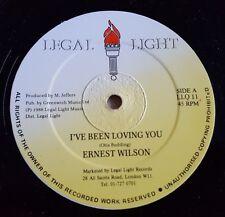 """Ernest Wilson - I've been loving you 12"""" vinyl single Reggae"""