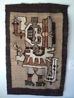 Mid Century Hand Woven Peruvian Tapestry- Vivian Burns Imports