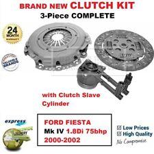 Para Ford Fiesta Mk IV 1.8Di 75bhp 2000-2002 Nuevo 3Piece Embrague Kit con Csc